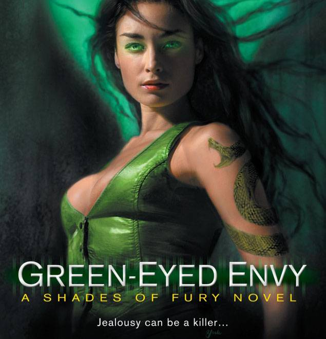 Teaser Tuesday:  Snippet from Green Eyed Envy, Fury Book 2…