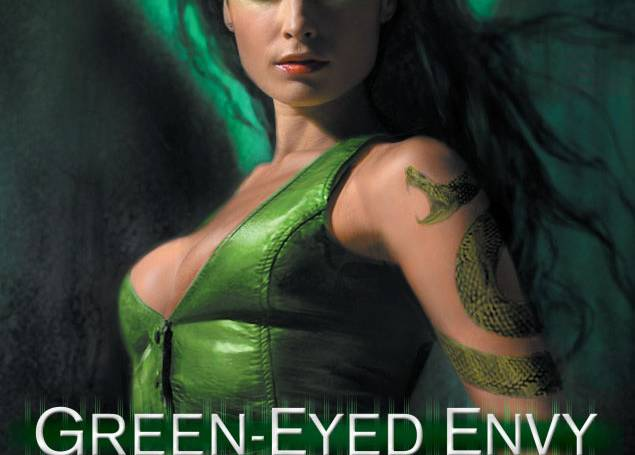 Starred Publishers Weekly Review for Green-Eyed Envy…